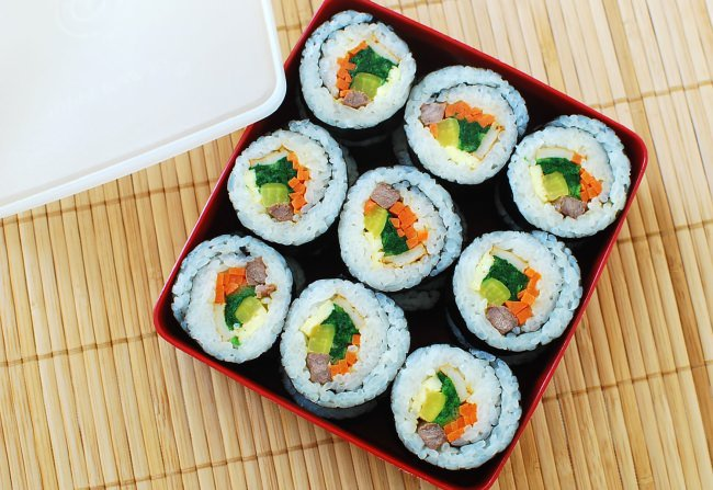 SUSHI CLASSES AT LONDON COOKERY SCHOOL
