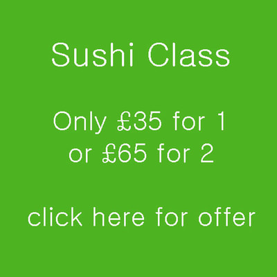 London Cookery School SUSHI CLASS OFFER